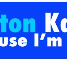 Clinton Kaine Because I'm Sane Sticker