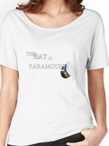 Cabin Pressure: The Hat is Paramount Women's Relaxed Fit T-Shirt