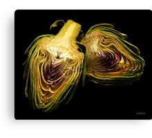 Artichoke hearts Canvas Print