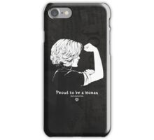 Proud To Be A Woman  iPhone Case/Skin