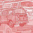 Red Bay Campervan Montage by Ra12
