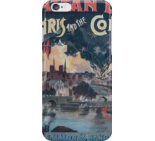 Performing Arts Posters Paris and the Commune 0524 iPhone Case/Skin