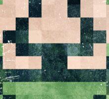 Super Mario Frog Vintage Pixels Sticker