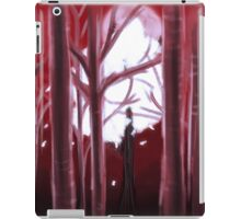 Red Forest iPad Case/Skin