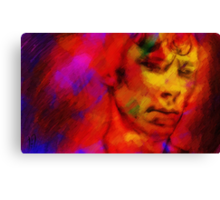 A Colourful Character Canvas Print