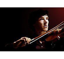 Violinist Photographic Print