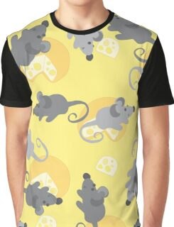 Cheese gray mouse Graphic T-Shirt