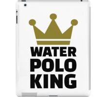 Water polo king crown iPad Case/Skin