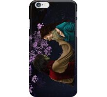 Rumpelstiltskin and Belle iPhone Case/Skin