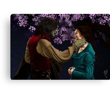 Rumpelstiltskin and Belle Canvas Print
