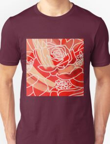 Red Flower  Unisex T-Shirt