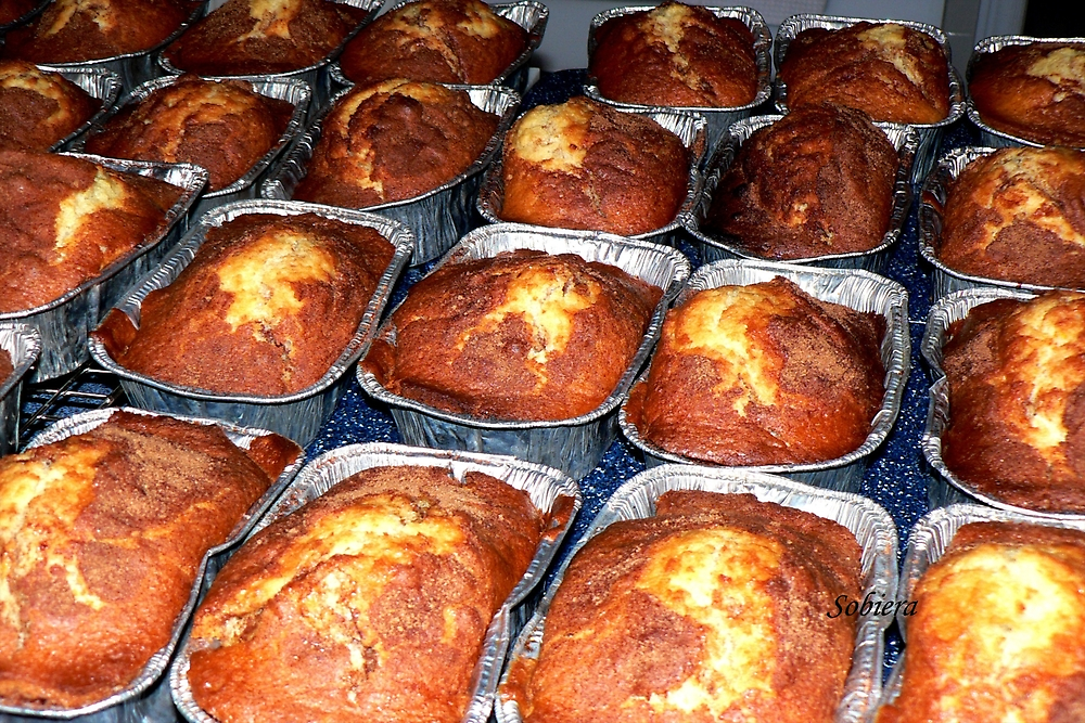 Friendship loaves for you! by Rosemary Sobiera