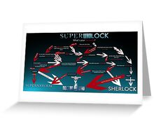 Superwholock: What's your Favourite? Greeting Card