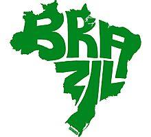 Brazil Green Photographic Print