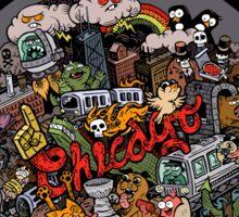 Chicago  Logo Sticker