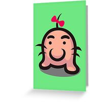Mr. Saturn Greeting Card