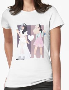 Melanie Martinez - Tag, You're It / Milk and Cookies Womens Fitted T-Shirt