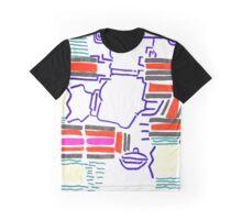 color MAZE Graphic T-Shirt