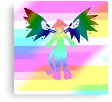 Radioactive Rainbows 2 Canvas Print