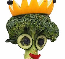 The Veggies - Lady Brenda Broccolli by Yampimon