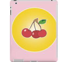 Cherry circle pink iPad Case/Skin