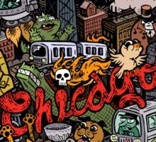 Chicago Logo 3 Sticker