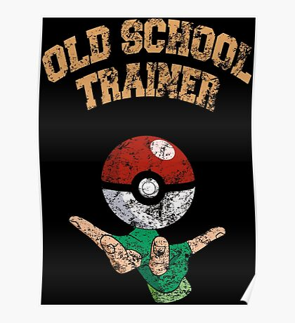 Old school trainer Poster
