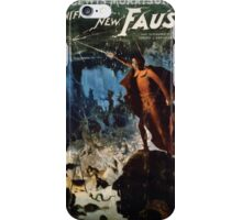 Performing Arts Posters Lewis Morrisons magnificent new Faust 2792 iPhone Case/Skin