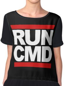 RUN CMD Chiffon Top