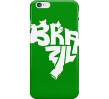 Brazil White iPhone Case/Skin
