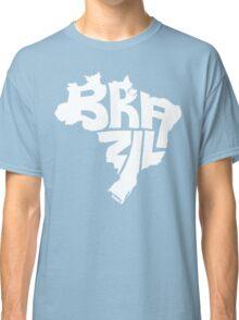 Brazil White Classic T-Shirt