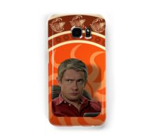 Living with Sherlock Holmes Samsung Galaxy Case/Skin