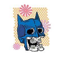 Bat Death Cowl Photographic Print