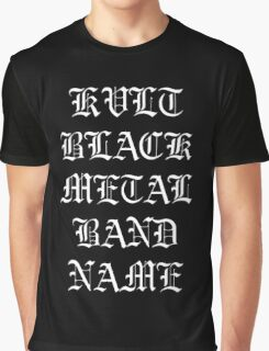 Kvlt Metal Graphic T-Shirt