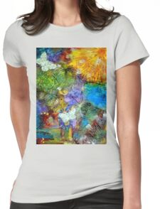 Let Everything with Breath SING- FINAL Womens Fitted T-Shirt