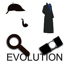 Evolution of Sherlock Holmes Photographic Print