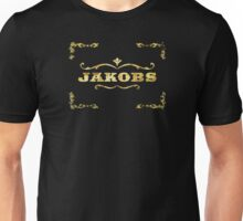 Jakobs gold leaf design  Unisex T-Shirt