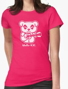 Hello KK Womens Fitted T-Shirt