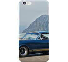 1965 Ford 'Moro Bay' Mustang G.T.350 iPhone Case/Skin