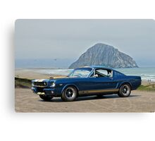 1965 Ford 'Moro Bay' Mustang G.T.350 Canvas Print