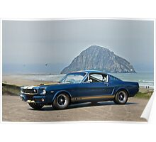 1965 Ford 'Moro Bay' Mustang G.T.350 Poster