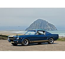 1965 Ford 'Moro Bay' Mustang G.T.350 Photographic Print
