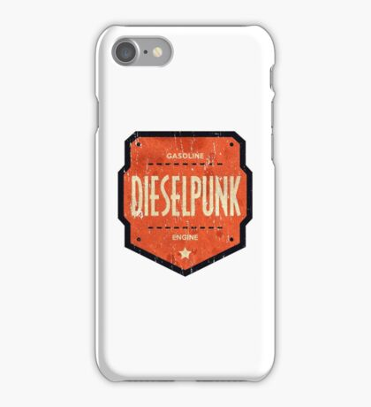 Dieselpunk iPhone Case/Skin