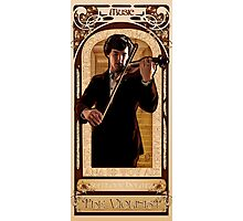 Art Nouveau Sherlock: The Violinist Photographic Print