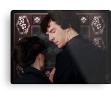 You flirted with Sherlock Holmes? Metal Print