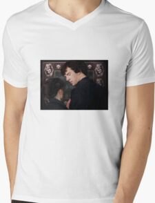 You flirted with Sherlock Holmes? Mens V-Neck T-Shirt