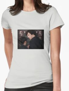 You flirted with Sherlock Holmes? Womens Fitted T-Shirt