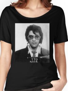 Elvis - Mug Shot Women's Relaxed Fit T-Shirt