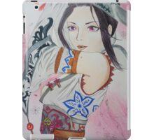 Warrior girl iPad Case/Skin