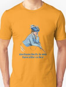 Melancholy Is My Favorite Color Unisex T-Shirt